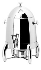 PrestoWare PW-812, 12.6-Quart Deluxe Stainless Steel Coffee Urn with Chrome Legs