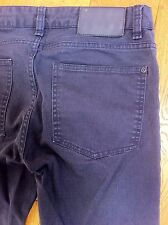MENS BLUE H & M STRAIGHT LEG JEANS TROUSERS SIZE EUR 31