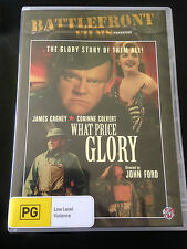 WHAT PRICE GLORY  R4 DVD  FREE POST James Cagney
