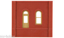 HO Scale Dock Level Walls w/Arched Entry Modular Building Kit - DPM #301-05