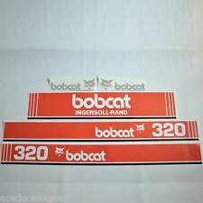 X320 DECALS X320 Stickers Bobcat X320 Decal STICKER Kit Mini Excavator