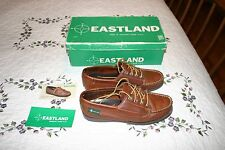 Vintage Eastland Camp Moc Moccasin USA Womens 5 1/2 M Used In Original Box