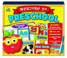 GET READY FOR PRESCHOOL 3+Numbers,Alphabet,Shapes NEW w/shelfworn packaging
