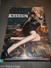 SCARLETT JOHANSSON - MANGO CLOTHING - ORIGINAL DS HUGE DUTCH ADVERTISING POSTER