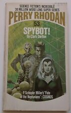 #53 Perry Rhodan SPYBOT! science fiction paperback ACE 1974