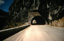 KODACHROME Red Border 35mm Slide Mount Rainier National Park Road Tunnel 1957!!!