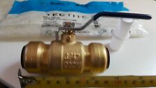 "3/4"" Tectite EPC Fig 210 Ball Valve CxC Removable PEX/CPVC/CU *Lead Free Brass*"