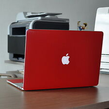 Red Carbon Fiber Skin Decal Cover Guard Protector fr MacBook Pro 15 A1398 Retina