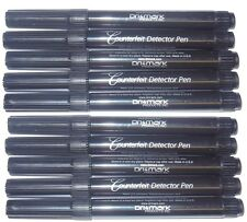 10 - DRI MARK US Dollar Counterfeit Money Detector pens - DriMark