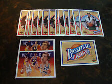1991-92 Upper Deck Basketball---Jerry West Heroes---Lot Of 16---See List