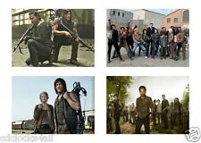 4 The Walking Dead Television Show 5 x 7 GLOSSY * 4 Photo Picture LOT