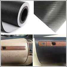 Auto Interior Air Outlet Center Armrest Box 3D Carbon Fiber Vinyl Wrap Sticker