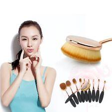 10Pcs Professional Makeup Cosmetic Powder Foundation Brushes Brush Set for Eyes
