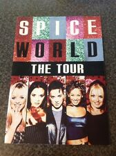 Spice girls Spice World The Tour Large Brochure