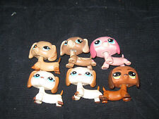 Littlest Pet Shop DACHSUNDS Dogs Huge Toy Lot