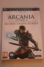 Gamebook - Arcania Gothic 4 PC DVD