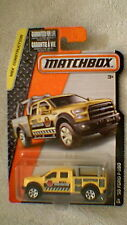 Matchbox (US Card) - 2016 - #38 '15 Ford F-150 - Yellow & Black