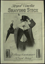 Royal Vinolia Shaving Stick 1911 Page Advert