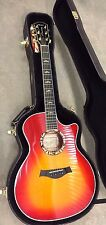 Taylor 614CE L30 30th Annivesary Limited Ed. Red Acoustic Electric Guitar 2003