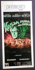 Locandina KASIM LA FURIA DELL'INDIA 1960 MATURE AUBREY NEWLEY CINEMASCOPE
