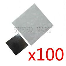 100pcs 20x20mm Double Side Square Thermal Adhesive Tape Pads for Heat Sink