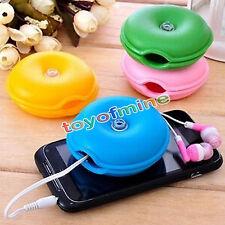 1pc Smart Tortuga Cable Organizador Wrap Enrollador de Cable Auriculares Titular