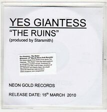 (EV628) Yes Giantess, The Ruins - 2010 DJ CD