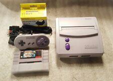 Super Nintendo Mini SNES Console SNS-101 with Super Mario All Stars Rare!