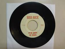 """CHEQUES: In The Groove-To Stone-U.S. 7"""" 10- 1967 Boss Rock 45- 101,Louisiana"""