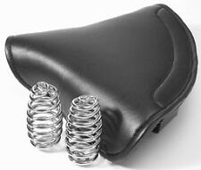 Extra Large Lycette type Solo Seat Saddle with springs Norton 16H heavy duty