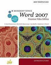 New Perspectives on Microsoft  Office Word 2007, Introductory, Premium Video Edi