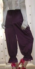Vintage inspired Victorian~Edwardian style purple bloomers~pettipant~culottes