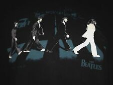 THE BEATLES BAND ABBEY ROAD LARGE T- SHIRT JOHN LENNON ROCK  OUT OF PRINT