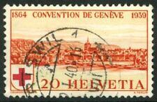SWITZERLAND - SVIZZERA - 1939 - Croce Rossa. 75° anniversario della Convenzione