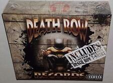 VA THE ULTIMATE DEATH ROW RECORDS COLLECTION BRAND NEW SEALED 3CD DVD T-SHIRT