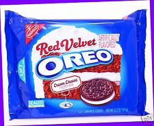 1 Nabisco Oreo RED VELVET Cream Cheese Cookies Cookie 12.2 oz LIMITED EDITION