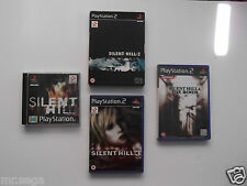 SILENT HILL 1, SILENT HILL 2, SILENT HILL 3 & SILENT HILL 4 for PLAYSTATION 2
