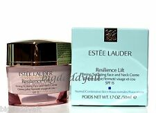 Estee Lauder Resilience Lift Firming Sculpting Face & Neck Creme 1.7 oz SPF 15