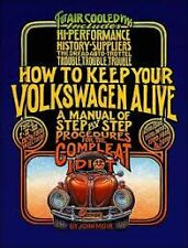 HOW TO KEEP YOUR VOLKSWAGEN ALIVE manual idiot VW bug AC000900//5
