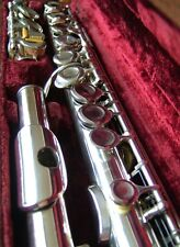 PHILIPP hammig Professional SOLID SILVER closed-hole FLUTE (BELLA Tono)