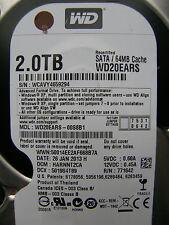 2 TB Western Digital WD20EARS-00S8B1 / HARNNT2CA / 2060-771642-001 REV P1