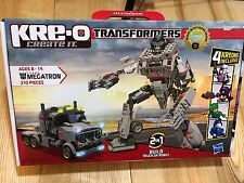 NEW-  KRE-O Transformers MEGATRON 310 Pc. Building Set