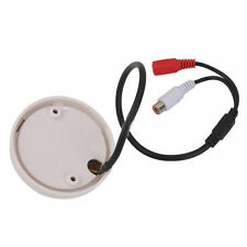 High Sensitive Microphone Audio/Sound Cable Monitor for CCTV Security Camera JPM