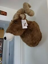 "NEW W/TAGS! PLUSH BIGHORN SHEEP (33"" GIRTH) WALL MOUNT! LODGE MANCAVE ANYWHERE!"
