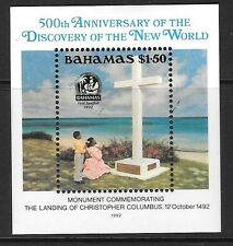 BAHAMAS SGMS937 1992 500th ANNIV OF DISCOVERY OF AMERICA BY COLUMBUS MNH