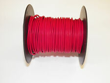 18 GXL HIGH TEMP AUTOMOTIVE WIRE 100 FOOT SPOOL OF RED