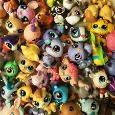20pcs lot Original Littlest Pet Shop LPS Tierchen Mädchen Junge Figur Puppen Toy