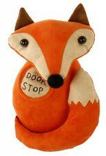Türstopper Fuchs in Wildlederoptik mit süßen Knopfaugen auch als Dekofigur Fuchs