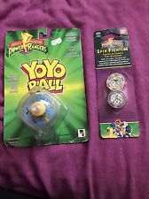 Mighty Morphin Power Rangers Yoyo Toy And Spin Fighters King Sphinx -Vintage Old