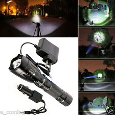 3000LM CREE XM-L T6 LED Rechargeable Flashlight Torch Lamp W + Battery Charger
